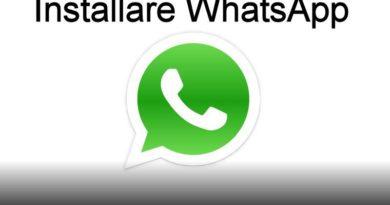installare whatsapp