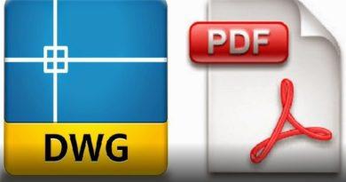 come convertire file autocad dwg in pdf