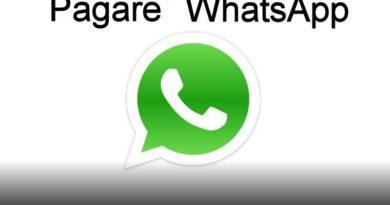 pagare whatsapp