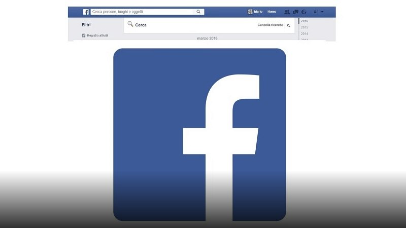 Cancellare cronologia Facebook Persone Cercate
