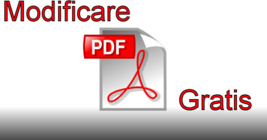 Modificare PDF Gratis