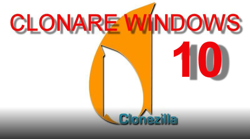 CLONARE HARD DISK WINDOWS 10