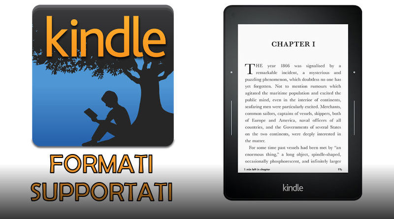 kindle formati supportati