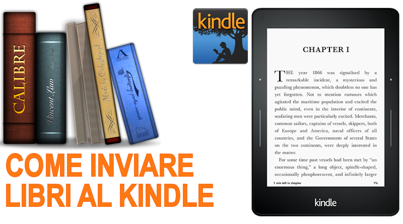 Come configurare Calibre per inviare libri al Kindle