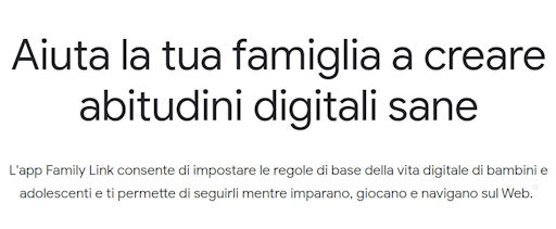 Family Link - MarioPet.it